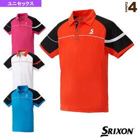 [スリクソン テニス・バドミントン ウェア(メンズ/ユニ)]ポロシャツ/ユニセックス(SDP-1706)テニスウェア男性用