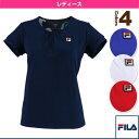 [フィラ テニス・バドミントン ウェア(レディース)]半袖ゲームシャツ/レディース(VL1615)