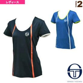 [セルジオタッキーニ テニス・バドミントン ウェア(レディース)]TAPED T-SHIRT/Tシャツ/PARISシリーズ/レディース(37255)