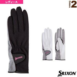 [スリクソン テニス アクセサリ・小物]テニスグローブ/両手セット/手のひら側穴あきタイプ/レディース(SGG0730)手袋