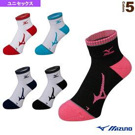 [ミズノ テニス・バドミントン ウェア(メンズ/ユニ)]ソックス/ショート/ユニセックス(62JX7001)バドミントンウェア男性用靴下