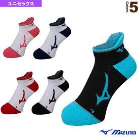 [ミズノ テニス・バドミントン ウェア(メンズ/ユニ)]ソックス/アンクル/ユニセックス(62JX7003)バドミントンウェア男性用靴下