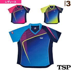[TSP 卓球 ウェア(レディース)]レディスルーチェシャツ/レディース(032412)