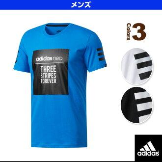 [阿迪达斯全部运动服饰(男子的/Uny)]HM广场标识T恤M/人(MLG60)