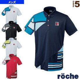 [ローチェ(roche) テニス・バドミントン ウェア(メンズ/ユニ)]ポロシャツ/メンズ(R7T02S)