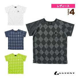 [ルーセント テニス・バドミントン ウェア(レディース)]ゲームシャツ/襟なし/レディース(XLH-227)