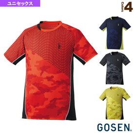 [ゴーセン テニス・バドミントン ウェア(メンズ/ユニ)]ゲームシャツ/ユニセックス(T1724)
