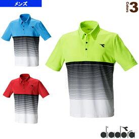 [ディアドラ テニス・バドミントン ウェア(メンズ/ユニ)]TEAMゲームシャツ/メンズ(DTG7382)