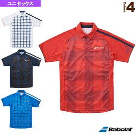 [バボラ テニス・バドミントン ウェア(メンズ/ユニ)]Colorplay Line/カラープレイライン/ポロシャツ/ユニセックス(BAB-1757)