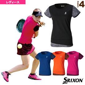 [スリクソン テニス・バドミントン ウェア(レディース)]ゲームシャツ/レディース(SDP-1764W)テニスウェア女性用
