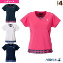 [シンプソン テニス・バドミントン ウェア(レディース)]ゲームシャツ/レディース(STW-72103)