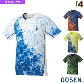 [ゴーセン テニス・バドミントン ウェア(メンズ/ユニ)]ゲームシャツ/ユニセックス(T1806)