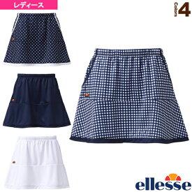 [エレッセ テニス・バドミントン ウェア(レディース)]チームスカート/Team Skirt/レディース(ETS2810L)