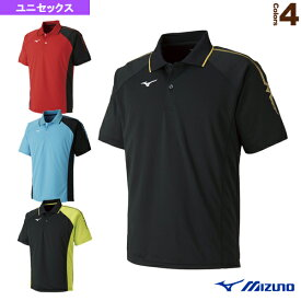[ミズノ テニス・バドミントン ウェア(メンズ/ユニ)]ゲームシャツ/ユニセックス(62JA8015)