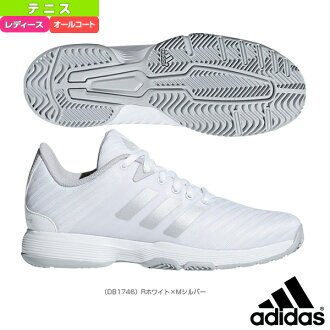 d96d05cd5dd4  Adidas tennis shoes  BARRICADE CODE COURT AC W  barricade cord coat AC W   Lady s (DB1746)