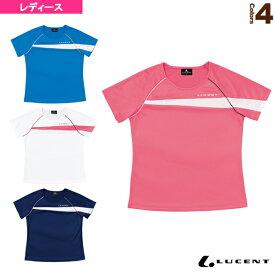 [ルーセント テニス・バドミントン ウェア(レディース)]ゲームシャツ/襟なし/レディース(XLH-231)
