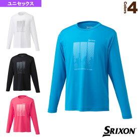 [スリクソン テニス・バドミントン ウェア(メンズ/ユニ)]ロングスリーブTシャツ/ツアーライン/ユニセックス(SDL-8842)テニスウェア男性用
