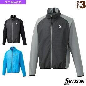 [スリクソン テニス・バドミントン ウェア(メンズ/ユニ)]ハイブリッドジャケット/ツアーライン/ユニセックス(SDW-4841)テニスウェア男性用