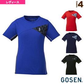 [ゴーセン テニス・バドミントン ウェア(レディース)]ゲームシャツ/レディース(T1821)