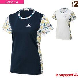 632538a00b3df [ルコック テニス・バドミントン ウェア(レディース)]半袖シャツ/SHORT SLEEVE SHIRT