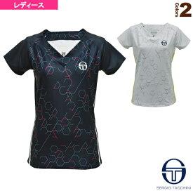 [セルジオタッキーニ テニス・バドミントン ウェア(レディース)]US OPEN/PERSPECTIVE T-SHIRT/パースペクティブ Tシャツ/レディース(37647)