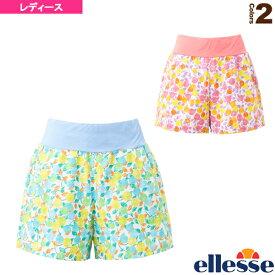 [エレッセ テニス・バドミントン ウェア(レディース)]ダブルクロスショーツ(P)/Double Cloth Shorts(P)/レディース(EW29111P)
