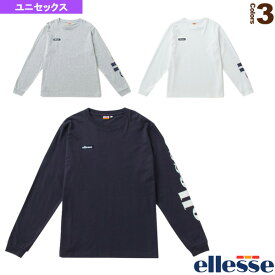 [エレッセ ライフスタイル ウェア(メンズ/ユニ)]ロングスリーブロゴティー/Long Sleeve Logo Tee/ユニセックス(EH19100)