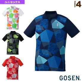 [ゴーセン テニス・バドミントン ウェア(メンズ/ユニ)]ゲームシャツ/ユニセックス(T1900)