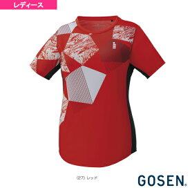 [ゴーセン テニス・バドミントン ウェア(レディース)]ゲームシャツ/レディース(T1905)