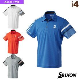 [スリクソン テニス・バドミントン ウェア(メンズ/ユニ)]ポロシャツ/ツアーライン/ユニセックス(SDP-1902)
