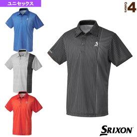 [スリクソン テニス・バドミントン ウェア(メンズ/ユニ)]ポロシャツ/ツアーライン/ユニセックス(SDP-1904)