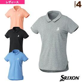 [スリクソン テニス・バドミントン ウェア(レディース)]ポロシャツ/ツアーライン/レディース(SDP-1922W)
