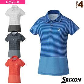 [スリクソン テニス・バドミントン ウェア(レディース)]ポロシャツ/ツアーライン/レディース(SDP-1926W)