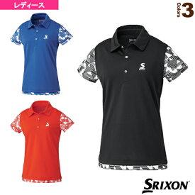 [スリクソン テニス・バドミントン ウェア(レディース)]ポロシャツ/ツアーライン/レディース(SDP-1928W)
