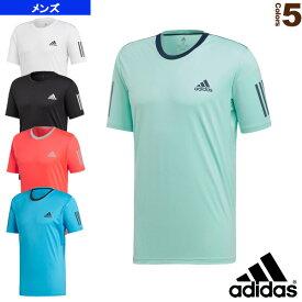 [アディダス テニス・バドミントン ウェア(メンズ/ユニ)]TENNIS CLUB 3ST TEE/テニスクラブ 3ST Tシャツ/メンズ(FRW68)