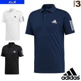 [アディダス テニス・バドミントン ウェア(メンズ/ユニ)]TENNIS CLUB 3STR POLO/テニス クラブ 3ストライプ ポロシャツ/メンズ(FRW69)