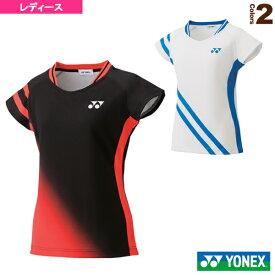 3b97d7fa5e8bce ゲームシャツ/スリムタイプ/レディース(20504Y)《ヨネックス テニス・バドミントン ウェア(