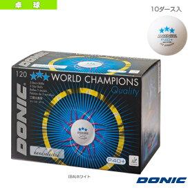 [DONIC 卓球 ボール]3スターボール P40+/10ダース入(DL014)
