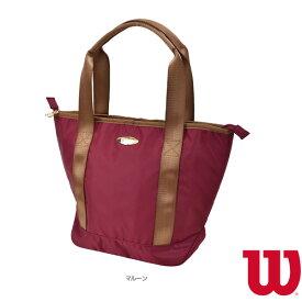 [ウィルソン テニス バッグ]W BEAR TOTE SMALL/ウィルソンベア トート S/マルーン(WR8001707001)