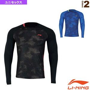 [リーニン テニス・バドミントン ウェア(メンズ/ユニ)]トレーニングTシャツ/長袖/ユニセックス(ATLN171)