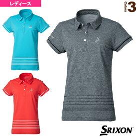 [スリクソン テニス・バドミントン ウェア(レディース)]ポロシャツ/ツアーライン/レディース(SDP-1961W)