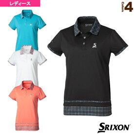 [スリクソン テニス・バドミントン ウェア(レディース)]ポロシャツ/ツアーライン/レディース(SDP-1963W)