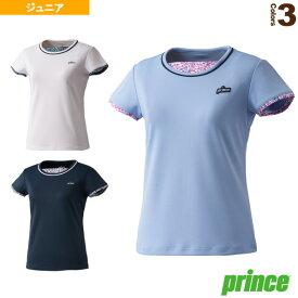 [プリンス テニス ジュニアグッズ]ガールズゲームシャツ/ガールズ(WJ110G)