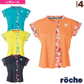 [ローチェ(roche) テニス・バドミントン ウェア(レディース)]ゲームシャツ/レディース(R9A32V)