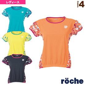 [ローチェ(roche) テニス・バドミントン ウェア(レディース)]ゲームシャツ/レディース(R9A34V)