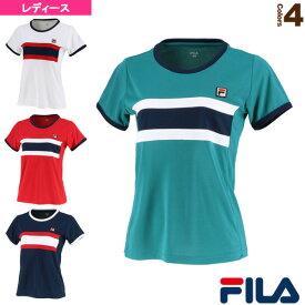 [フィラ テニス・バドミントン ウェア(レディース)]ゲームシャツ/レディース(VL2040)