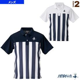 [シンプソン テニス・バドミントン ウェア(メンズ/ユニ)]ポロシャツ/メンズ(STW-91002)