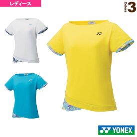 [ヨネックス テニス・バドミントン ウェア(レディース)]ゲームシャツ/スリムタイプ/レディース(20502)