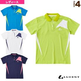 [ルーセント テニス・バドミントン ウェア(レディース)]ゲームシャツ/レディース(XLP-901)