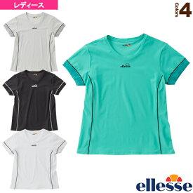 [エレッセ テニス・バドミントン ウェア(レディース)]2020年04月上旬【予約】ショートスリーブクルーゲームシャツ/SS Crew Game Shirts/レディース(EW00117)予約
